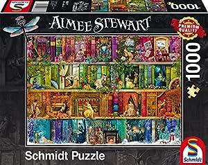 Schmidt Spiele 59377-Aimée Steward, satisfacción en el Pasado, Rompecabezas, 1000Piezas