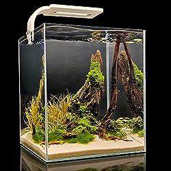 Aquael Acuario de camarones, Smart LED, Juego Completo con LED de iluminación modernas