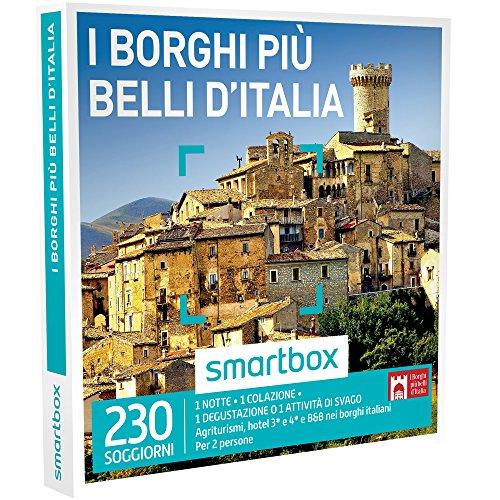 Smartbox cofanetto regalo - i borghi piÙ belli d'italia - agriturismi, hotel e b&b nei borghi italiani