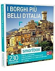 SMARTBOX - Cofanetto Regalo - I BORGHI PIÙ BELLI D'ITALIA - Agriturismi, Hotel e B&B nei borghi italiani