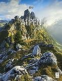 Alpen 2017 - Landschaftskalender Berge, Gipfel, Gebirge  -  30 x 39 cm