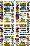 Sponsoren Sticker Aufkleber Folie 1 Blatt 270 mm x 180 mm wetterfest