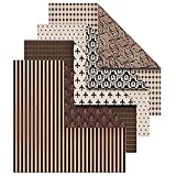 Vivi Gade Design Origamipapier, Sortiment, 10x10 cm, Oslo, 50 sort. Blatt