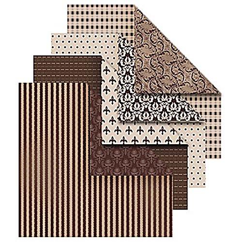 Vivi Gade Design Origamipapier, Sortiment, 10x10 cm, Oslo, 50 sort. Blatt -