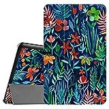 Fintie Samsung Galaxy Tab E 9.6 Hülle Case - Ultra Schlank Superleicht Ständer SlimShell Cover Schutzhülle Etui Tasche für Samsung Galaxy Tab E T560N / T561N (9,6 Zoll) Tablet-PC, Dschungelnacht