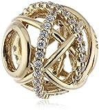 Pandora Damen-Charm 585 Gelbgold Zirkonia transparent - 750827CZ