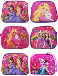 Kids Slings Bags –Blue,Pink Sling Bags,Small Pouches/clutches / Return Gift For Kids (Set Of 6 )