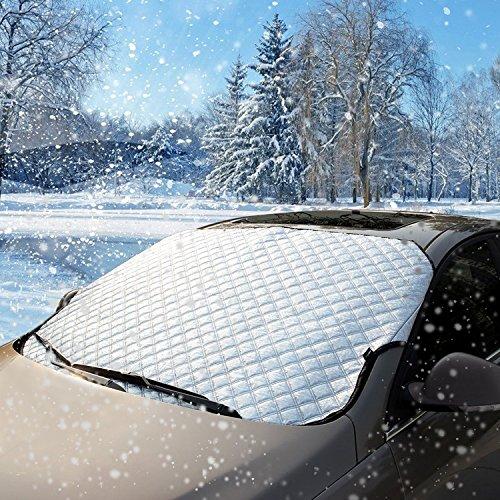 Preisvergleich Produktbild Windschutzscheibe Schnee, Frost Displayschutzfolie Abdeckung Universal Wind Screen Frost und Eis, Eis Sun Frost und Wind Beweis dafür, in alle Wetter - 147cm*100cm/57.9 *39.4