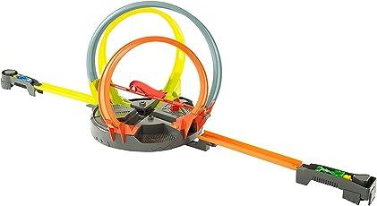 Hot Wheels Mattel FDF26, Mega-Looping Crashbahn