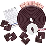 TONY STARK Extra Long Baby Proofing Edge and Corner Guards Extra Long 16.4 ft Edge , 8 Corner Protectors with Tape Child…