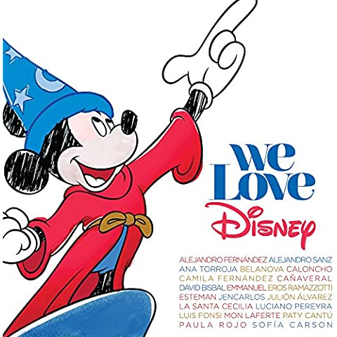 We Love Disney (Deluxe Edition with DVD)