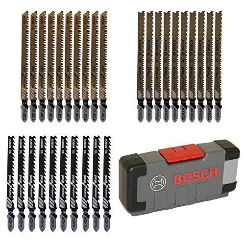 Bosch 2607010905Set 30Bi-Stichsäge Wood Precision T 144DP (10x)/T 301Scheiben (10x)/T 308BP (10x)