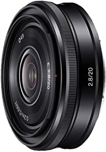 Sony Sel 20f28 Weitwinkel Objektiv Schwarz Kamera
