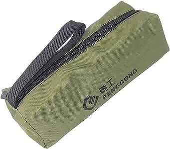 MagiDeal Sac de Rangement Portable avec Fermeture Eclair pour Outils de R/éparation Arm/ée verte