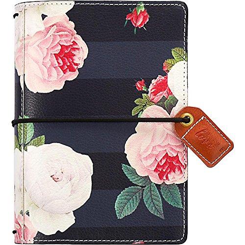 6dd6b90587d19 Webster  s Seiten schwarz floral Pocket Traveler Tagebuch ...