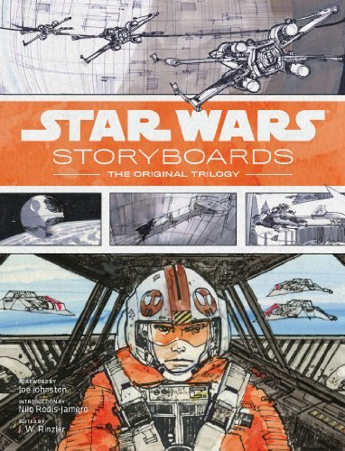 Star Wars Storyboards: The Original Trilogy by J.W. Rinzler (June 1, 2014) Hardcover