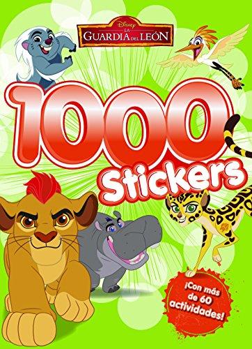 La Guardia del León. 1000 stickers: Libro de actividades con 1.000 pegatinas (Disney. La guardia del león) por Disney