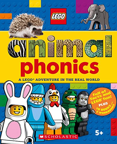 Set: A Lego Adventure in the Real World (Animal Phonics Pack 1) ()