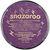 Snazaroo Face and Body Paint, 18 ml - Metallic Electric Purple (Individual Colour)