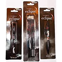 The Twilight Saga Eclipse Pencils + Gel Ink Pen + Retractable Ball Pen Stationery Writing Set Official