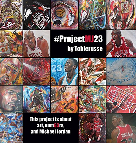 #ProjectMJ23: This project is about art, num63rs, and Michael Jordan. por Ron Schwartz