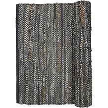Suchergebnis Auf Amazon De Fur Lederteppich Grau