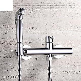 WP All Copper hot and Cold wash Bidet Bidet Faucet/Bidet Nozzle/Toilet Spray Gun Kit-A
