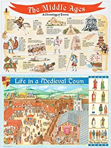 Teacher Created Resources Tcr4454 Medieval Times Bb Set Amazon Co