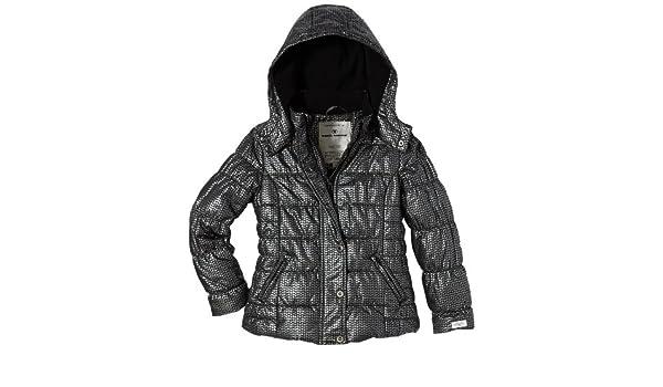 4aa6ff37bb7b TOM TAILOR TOM TAILOR Kids Mädchen Jacke 35210690040 metal star jacket, Gr.  128, Schwarz (2999 black) Jacken  Amazon.de  Bekleidung