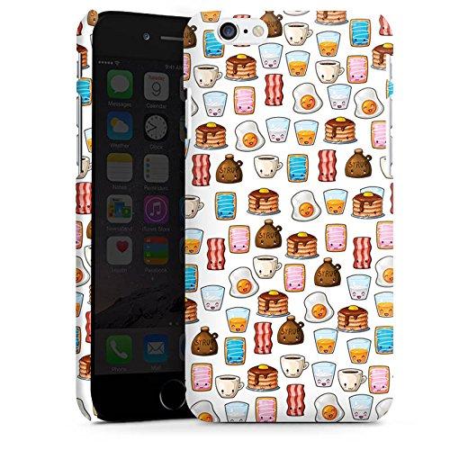 Apple iPhone X Silikon Hülle Case Schutzhülle Cute Breakfast Frühstück Kawaii Manga Style Premium Case matt