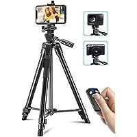 Cocoda Treppiede Smartphone, 126CM Cavalletto per Smartphone Estensibile per Registrazione Video, Treppiede Fotocamera…