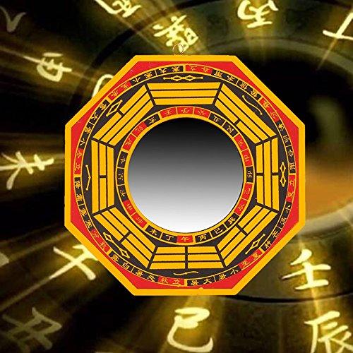 Somedays Bagua Mirror per Specchio Convesso per Protezione Contro Active nocivo energia, Bagwa Specchio Set per Protezione