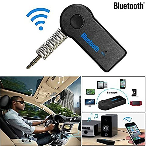 Landsell Vovotrade Details about Wireless Bluetooth 3.5mm AUX Audio Stereo Music Home Car Receiver Adapter Mic