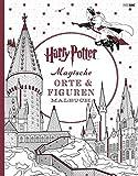Harry Potter: Magische Orte & Figuren Malbuch -