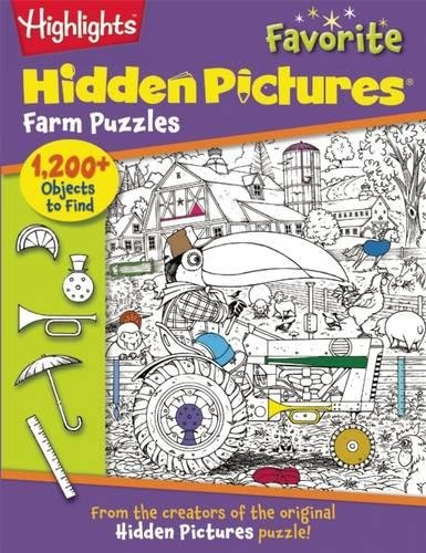 Farm Puzzles (Highlights (TM) Hidden Pictures (R))