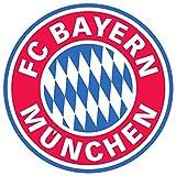 Bayern Munchen Abzeichen Kinder Wandaufkleber Wandüber Wall Art Wand Tattoo Customise4U™ (bayern badge 70cm)