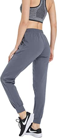 WUJI Tracksuit Bottoms for Women Yoga Pants with Pockets Sweatpants Womens Athletic Casual Sport Sweatpants Ladies for Running
