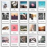 Cartes postales Set Love slogans 20et citation avec des photos et thème de l'amour au design POLAROID de Individual Nomad