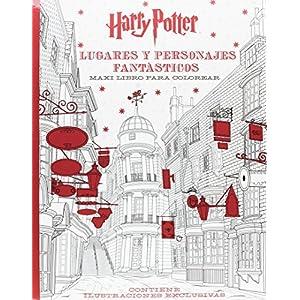 Harry Potter. Lugares Y Personajes Fantasticos. Maxi Libro Pa (HARRY POTTER LIBROS PARA COLOREAR) 6
