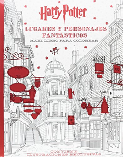 Harry Potter. Lugares Y Personajes Fantasticos. Maxi Libro Pa