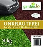 Gardenjo Dunkelbraun 4 kg