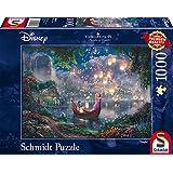 Schmidt spel puzzel 59480 - Thomas Kinkade, Disney Rapunzel, 1.000 delen puzzel