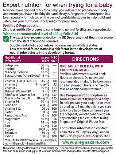 Pregnacare-Vitabiotics-Conception-30-Tablets