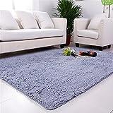 HJHET Die Republik Korea hohe Dichte saugfähigen Chenille Wohnzimmer Couchtisch Teppiche schönes Bett Teppiche 120*160 cm