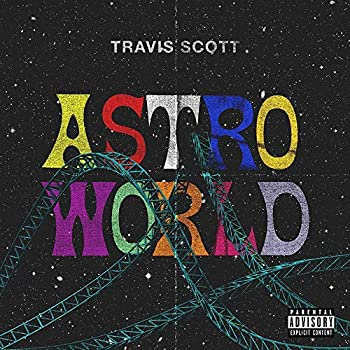 bb2bd31012d4 Lost Posters ALBUM COVER POSTER thick TRAVIS SCOTT: ASTROWORLD music 2018  giclee RECORD LP REPRINT #'d/100!! 12x12