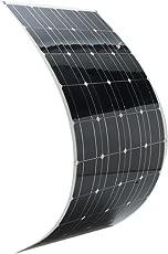 Elfeland SP-36 120W 12V 1180*540mm Monocrystalline Semi Flexible Solar Panel With 1.5m Cable