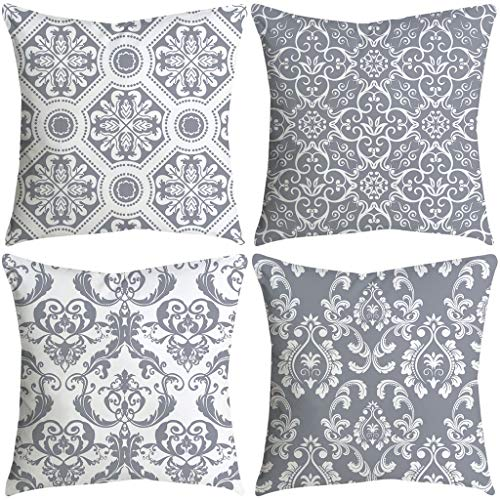 senbezug, kissenhülle Kopfkissenbezug Home Dekoration Pillowcase Super weich Sofakissen für Wohnzimmer Sofa Bed,45x45cm (H) ()