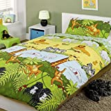 Generic Jungle Safari Toddler Duvet Bedding - Cheeky Monkey