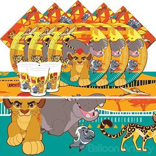 Disney Löwe Wächter Kinder Geburtstag Partygeschirr Pack Für 16 Leute