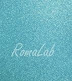 Knorr Prandell Folio A4de Papel Glitter Color Azul Card Scrapbooking cartulina Purpurina
